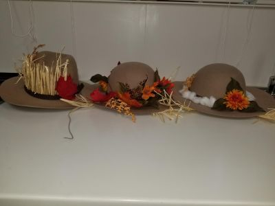 Take All 3 Scarecrow Hats