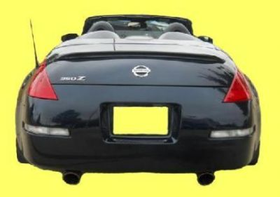 Purchase 03-08 Nissan 350Z Convertible OE Factory Style Style Spoiler Wing motorcycle in Grand Prairie, Texas, US, for US $71.50