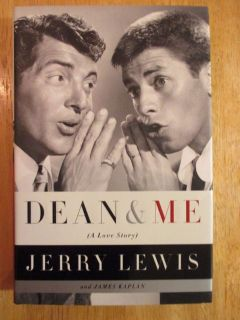 Dean & Me by Jerrry Lewis w Dean Martin Hard Cover Book w Dust Jacket.
