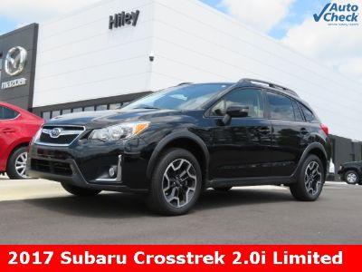 2017 Subaru XV Crosstrek 2.0i Limited (Crystal Black Silica)