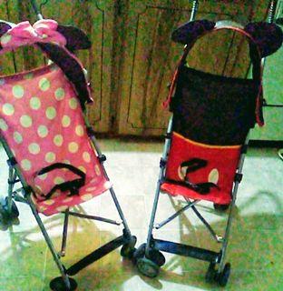 Disney 3D strollers