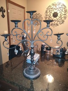 Set of candle holders (2)