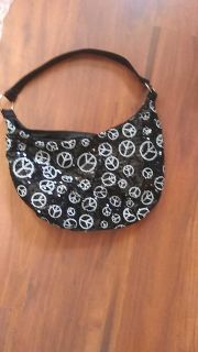 Peace sign sequence purse 5$