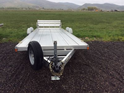 2017 Triton Trailers AUX 24' Equipment Trailer Trailers Kamas, UT