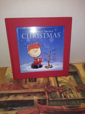 Large Hardcover Book Charlie Brown Christmas