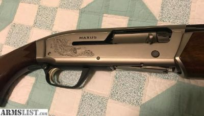 For Sale: Browning Maxus Hunter