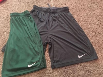 2 Pairs of Men s Large Nike Shorts for $10