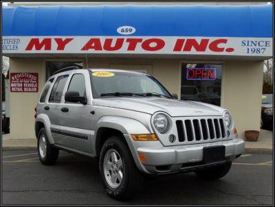 2007 Jeep Liberty Sport (Bright Silver Metallic)