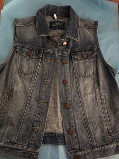 Loft denim vest. Final & last price