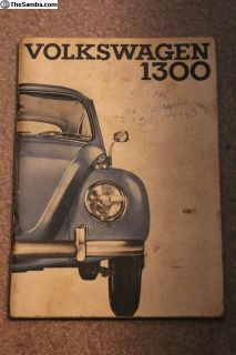 66 Bug Owners Manual Speedway Motors Canada