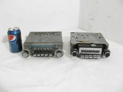 Buy 2 Antique Vintage Original GM Delco 995989 Fomoco 49088 AM Car Truck Radio motorcycle in Clare, Michigan, US, for US $9.99