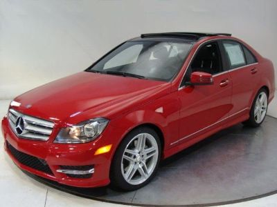 2013 Mercedes-Benz C-Class C300 Luxury 4MATIC (Mars Red)