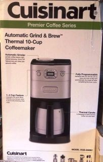 Cuisinart Grind and Brew coffee maker (used once)