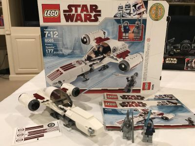 LEGO Star Wars set - includes all pieces, minifigures, box and instructions