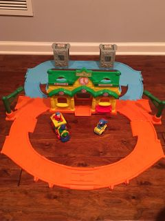 Elmo Junction Train Set-collectible at $75