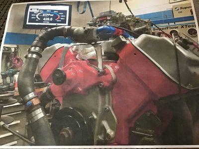 Early Hemi built 426 hp
