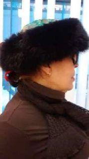 Nepalese Genuine Mink and Silk Fur Hat (Hand Made)