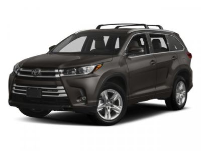 2018 Toyota Highlander Limited (Black)