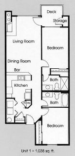 2 Beds - 95th Court