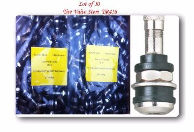 """Find 50 KITS TR416 TIRE VALVE STEMS FITS: .453"""" & .625"""" RIM VALVE HOLES LONG 1 1/2"""" motorcycle in El Monte, California, United States, for US $40.00"""