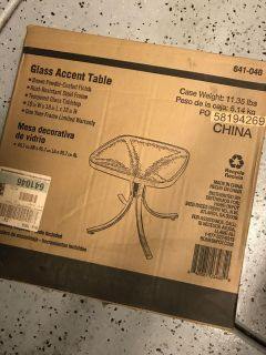 Patio table - new in box!