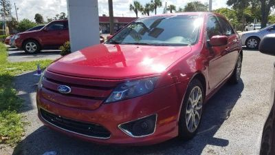 2012 Ford Fusion SE (Maroon)