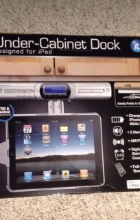 IT under cabinet dock for IPad