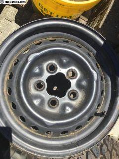 Westy vanagon wheels stock VW/ audi
