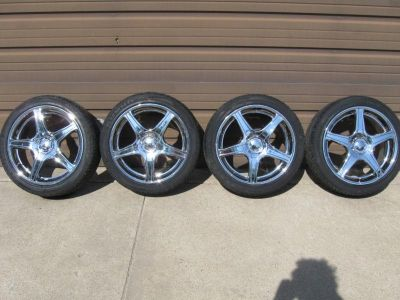 "Purchase 17"" American Racing Wheels and Tires Tires Are Like New!!!! motorcycle in Gilman, Iowa, US, for US $500.00"