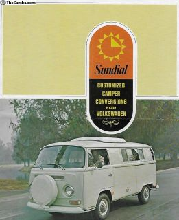 1968-1969 Sundial Camper Bus Sales Brochure