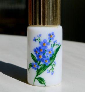 """Small 3"""" Perfume Atomizer w/ Periwinkle Design"""