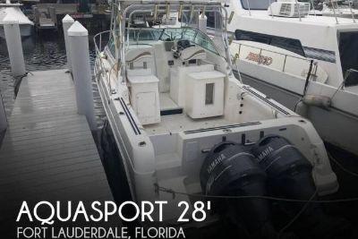 2001 Aquasport 275 Explorer