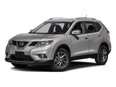 2016 Nissan Rogue S (Magnetic Black)