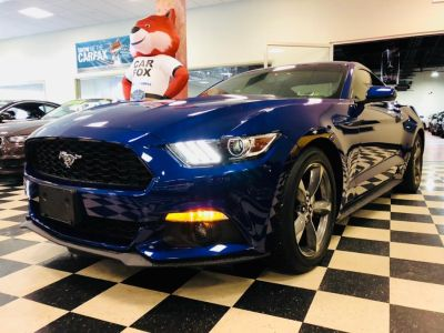 2016 Ford Mustang 2dr Fastback EcoBoost Premium (Deep Impact Blue Metallic)