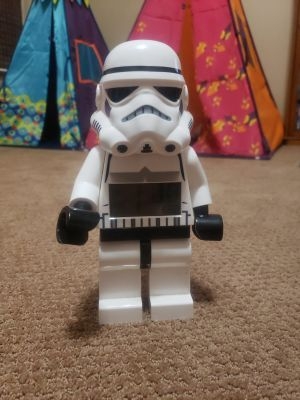 Storm trooper alarm clock