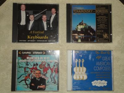 20 Classical Music CD's in very good conditgion