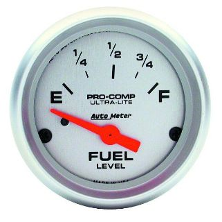 "Find Auto Meter 4316 Ultra Lite 2 1/16"" Electric Fuel Level Gauge motorcycle in Greenville, Wisconsin, US, for US $64.97"