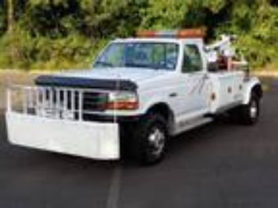 1994 Ford F-450 SD DUALLY WRECKER HAULER TOW PICKUP TRUCK