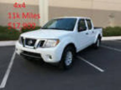 2017 Nissan Frontier 2017 Nissan Frontier 4WD 4x4 SV Long Bed 2014 2015 2016