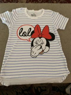 Girls size 10/12 Minnie Mouse shirt NWOT