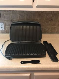 Large George Forman Grill.
