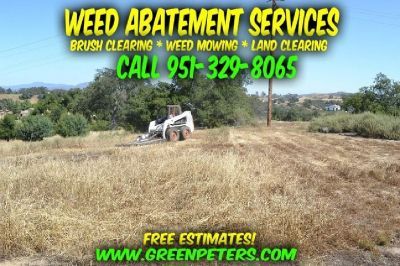 Affordable Weed Abatement Services & Fire Clearance - Call Us