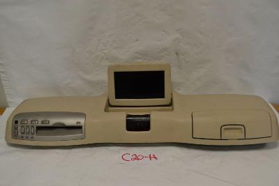 Purchase 2004 Lincoln Aviator Overhead Console DVD Monitor Rear Entertainment Player Tan motorcycle in Lakeland, Florida, US, for US $197.10
