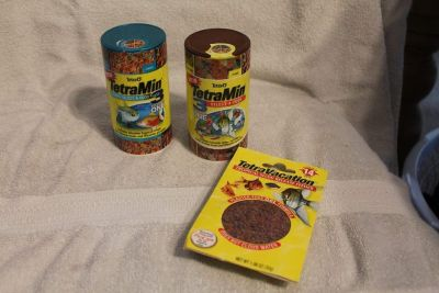 $5 Lot of Fish food, NEW expired