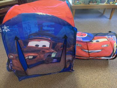 Disney Cars pop up play tent & tunnel