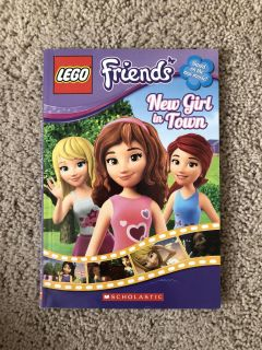 Lego Friends New Girl in Town book