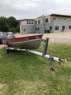 1972 Lund Fishing Boat