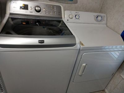 Maytag HE Washer & GE Dryer