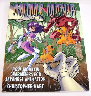 Anime Mania How to Draw Japanese Anime Characters Book / Art