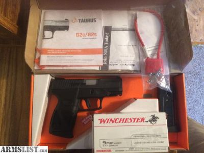 For Sale/Trade: Taurus G2C 9mm